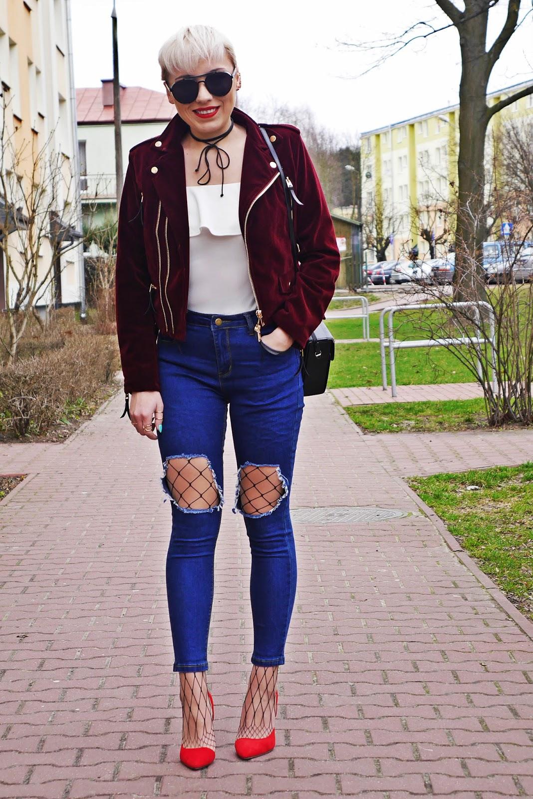 velvet_biker_jacket_burgundy_zaful_karyn_look_ootd_outfit_300317c