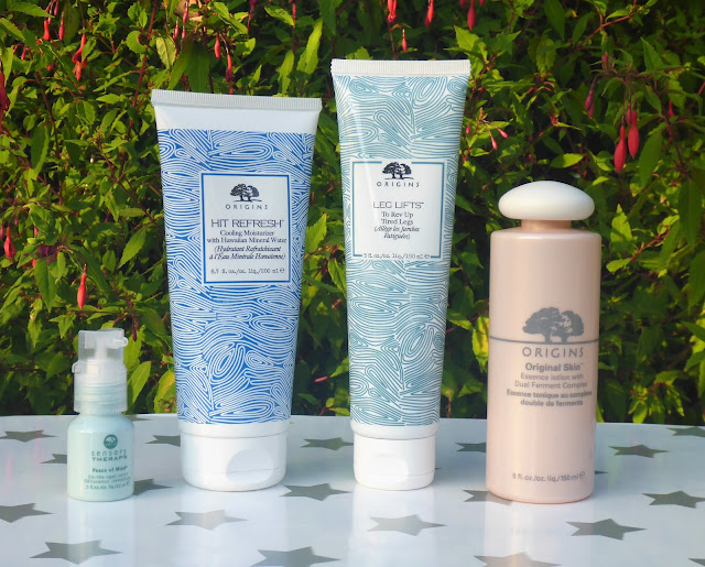 Origins Haul & Review - Hit Refresh, Leg Lifts, Peace of Mind, Original Skin and Face Masks