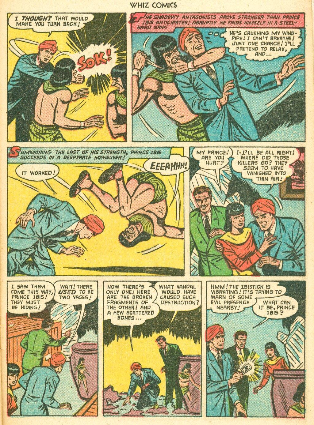 WHIZ Comics #155 #156 - English 25
