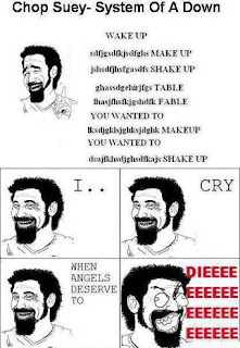 cancion de system of a down inentendible meme de humor