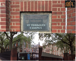 Maugham's St. Thomas's Hospital in 2015