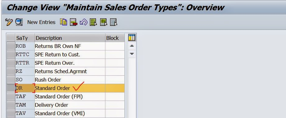 delivery document types in sap sd