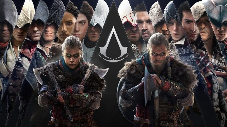 Assassins Creed Valhalla, Characters, 4K, #5.2499