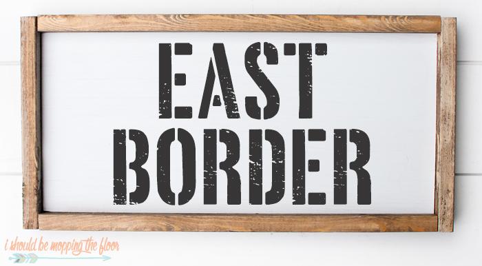 East Border Font