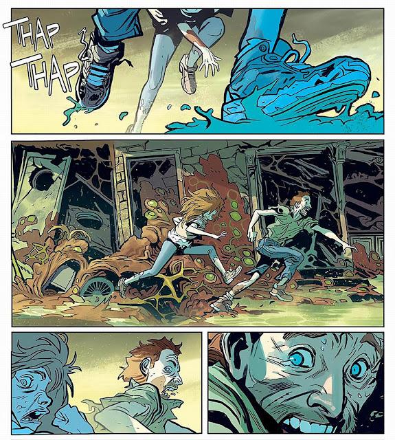 robert kirkman, oblivion song tom 1, recenzja komiksu, non stop comics
