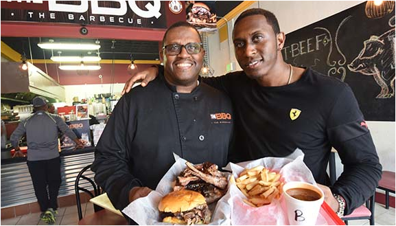 Founders of The BBQ Restaurant in Baltimore, MD