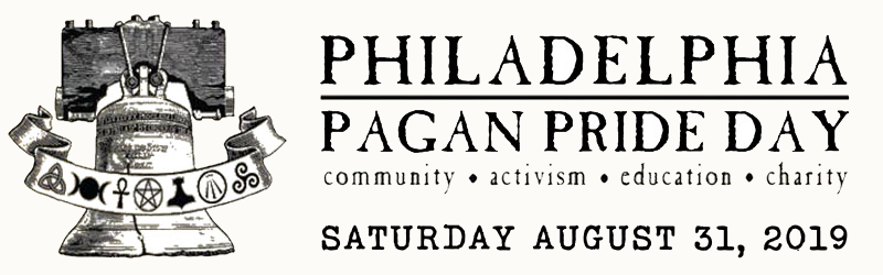 Philadelphia Pagan Pride Day, Saturday, August 31, 2019