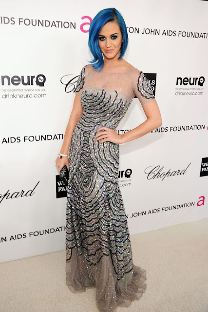 Elton John AIDs Foundation party Katy Perry