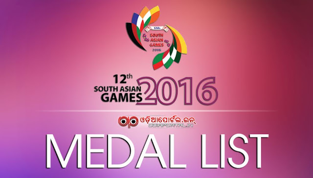 XII South Asian Games 2016 — Complete Medal Table, 789 medals (239 gold, 240 silver and 310 bronze medals) are on offer in 2016 South Asian Games.