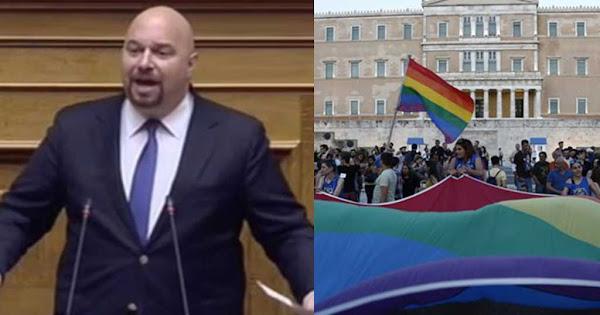 Παναγιώταρος για Athens Pride: «Προτείνω στον Βούτση να βάλει κι ένα κόκκινο φανάρι στη Βουλή»