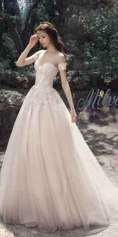 我心目中的婚紗款式→夢幻蓬紗裙篇