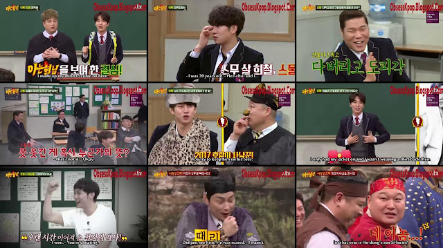 Knowing Brother Ep62 Eng Sub - Leeteuk & Shindong