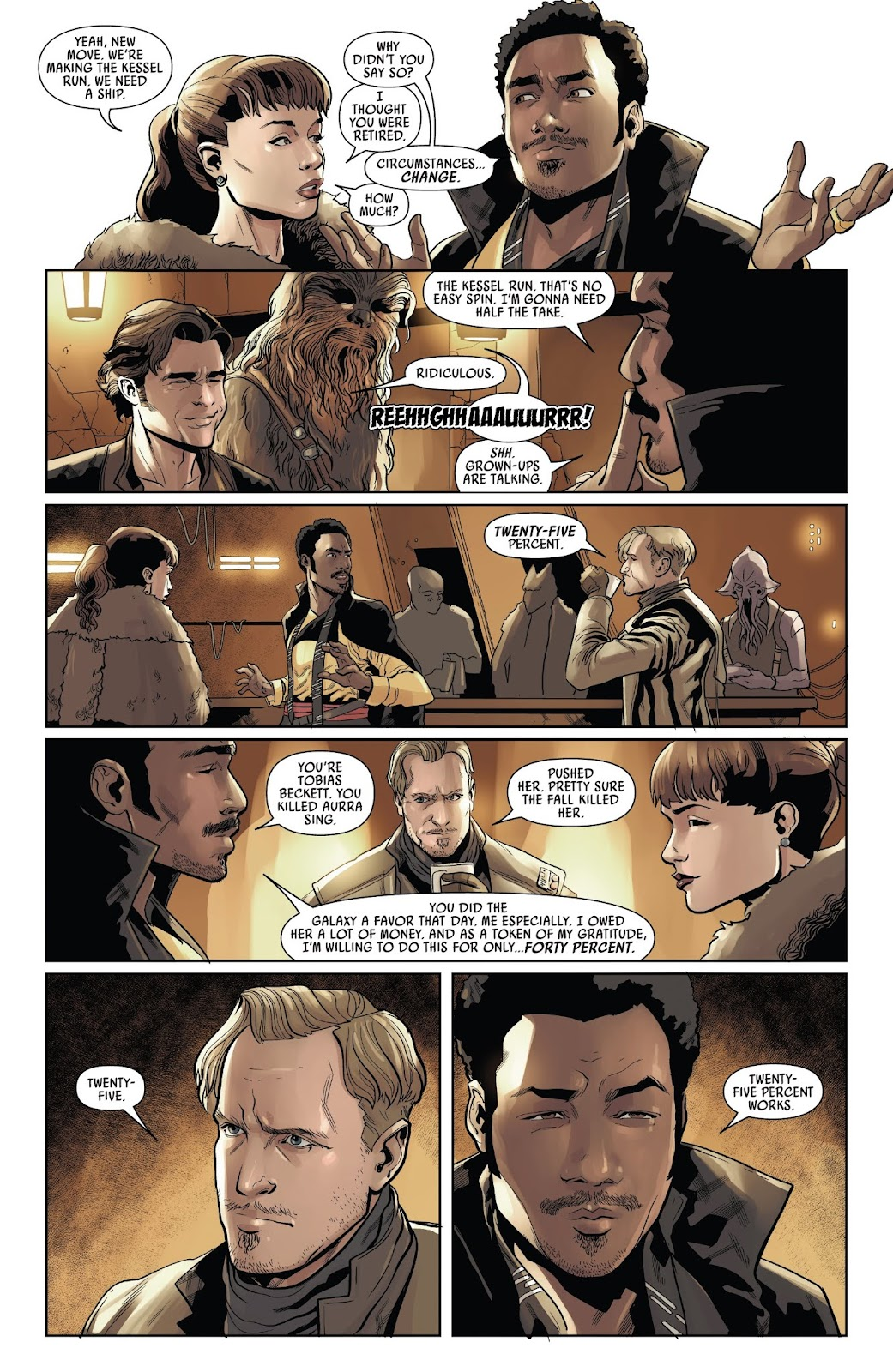 Read online Solo: A Star Wars Story Adaptation comic -  Issue #3 - 17