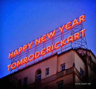Tom Roderick Art Happy New Year