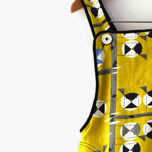 Tutorial | Chickadee Pinafore