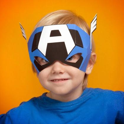 Des masques de super h ros imprimer - Masque super heros imprimer ...