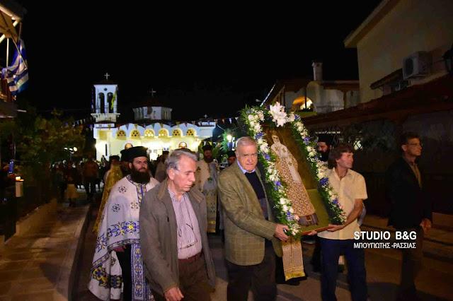 Τον Άγιο Νεκτάριο γιόρτασαν στις Εργατικές Κατοικίες Ναυπλίου (βίντεο)