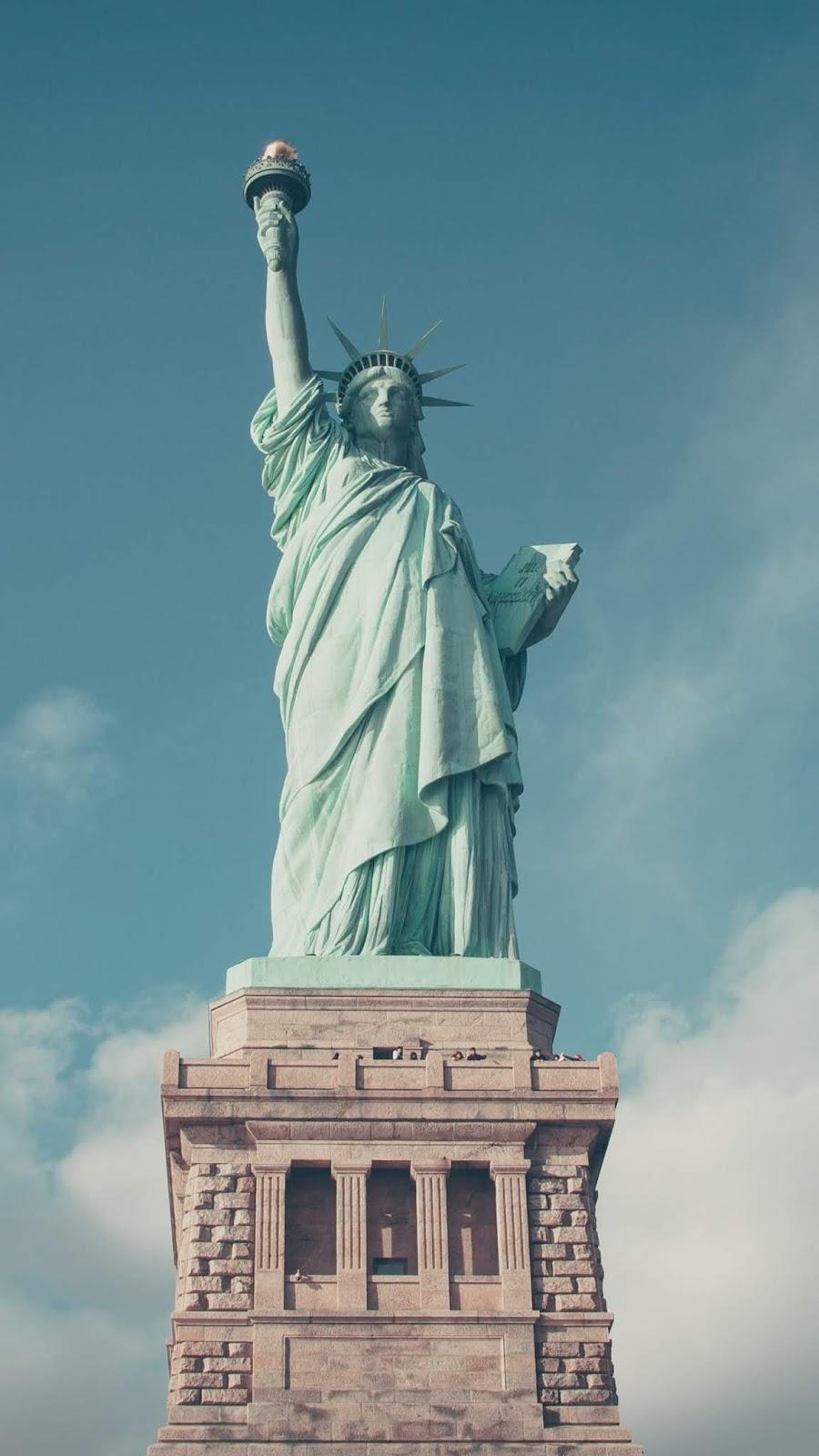 Statue of Liberty Phone Wallpaper