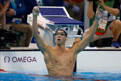 USA's Michael Phelps Takes His Gold Medal Count to 21 Winning Two More at Rio Olympics