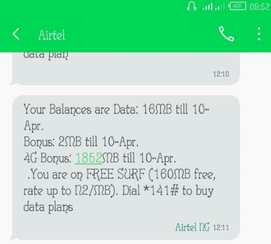 How to Get Airtel 4GB Data With Just N300 Plus Hint About Airtel 4G Band Frequency Airte-4G-data-bonus
