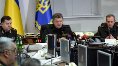 Poroshenko conducted a meeting of the Military Cabinet of the NSDC