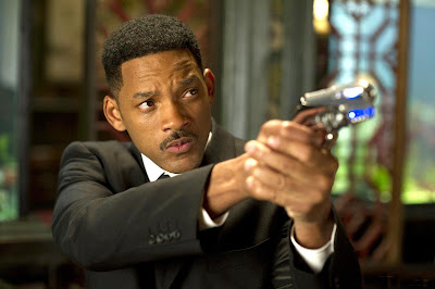 Men in Black 3 movie starring Will Smith.