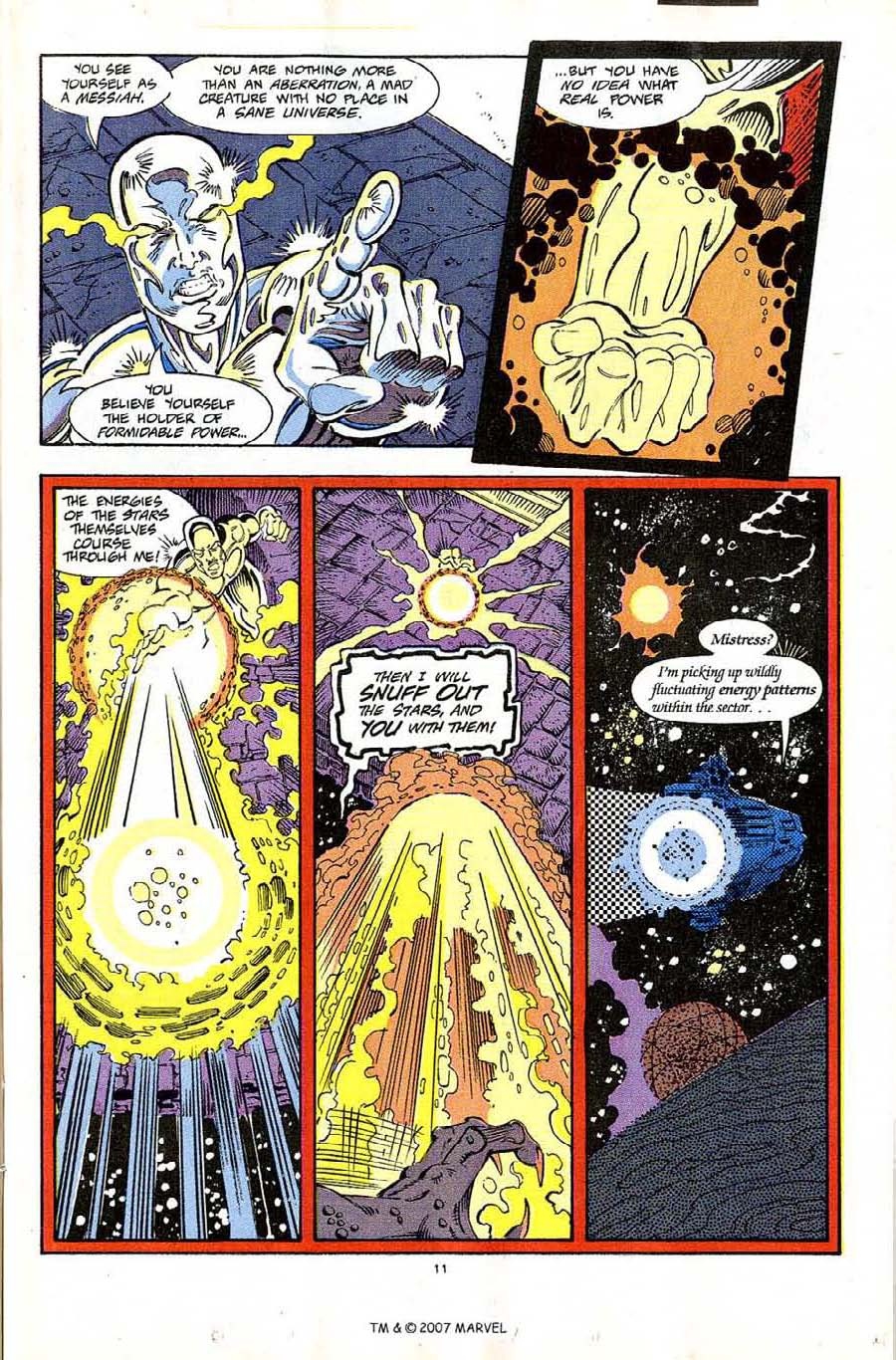 Read online Silver Surfer (1987) comic -  Issue #65 - 13