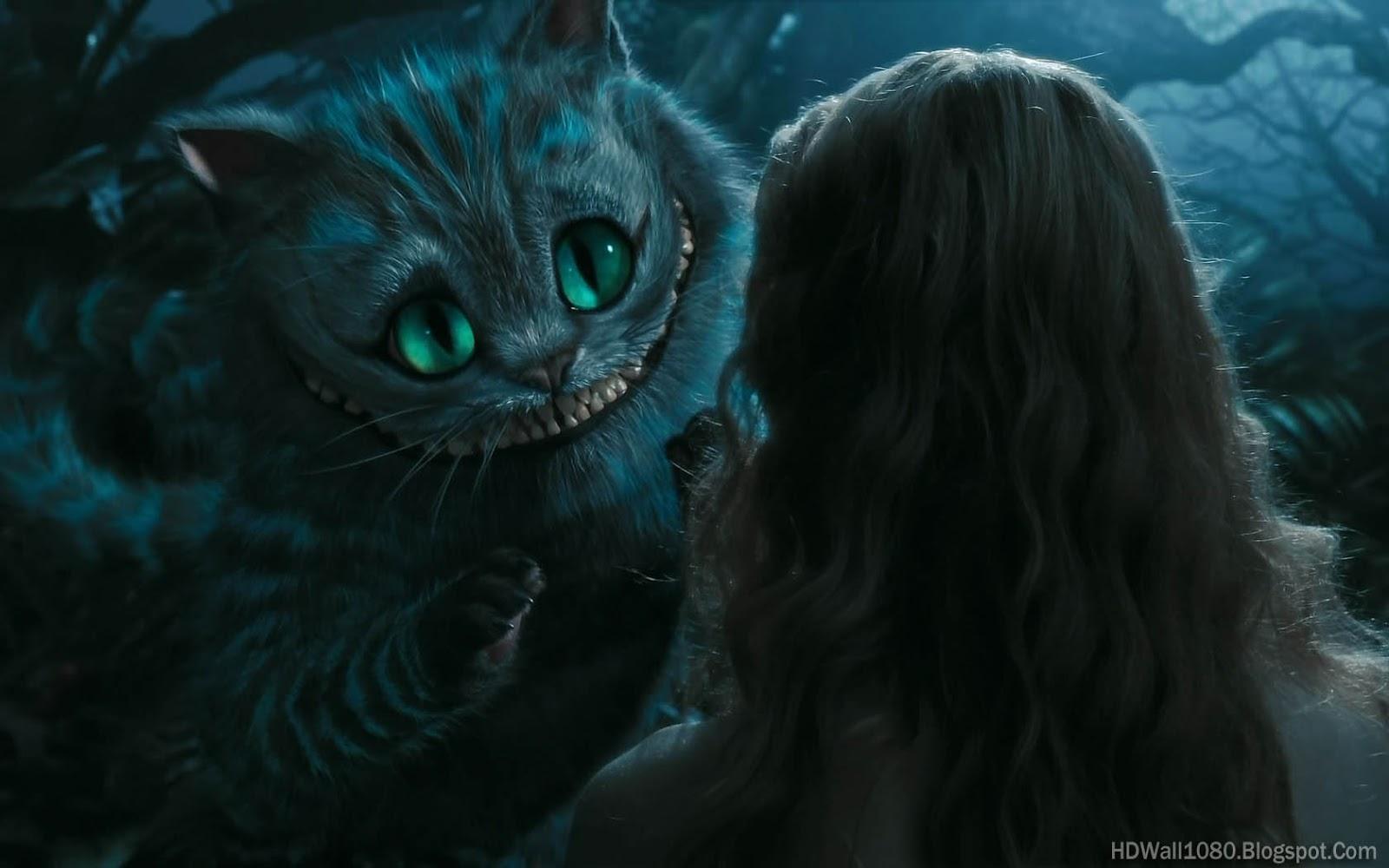 99walls Cat In Alice In Wonderland Wallpapers