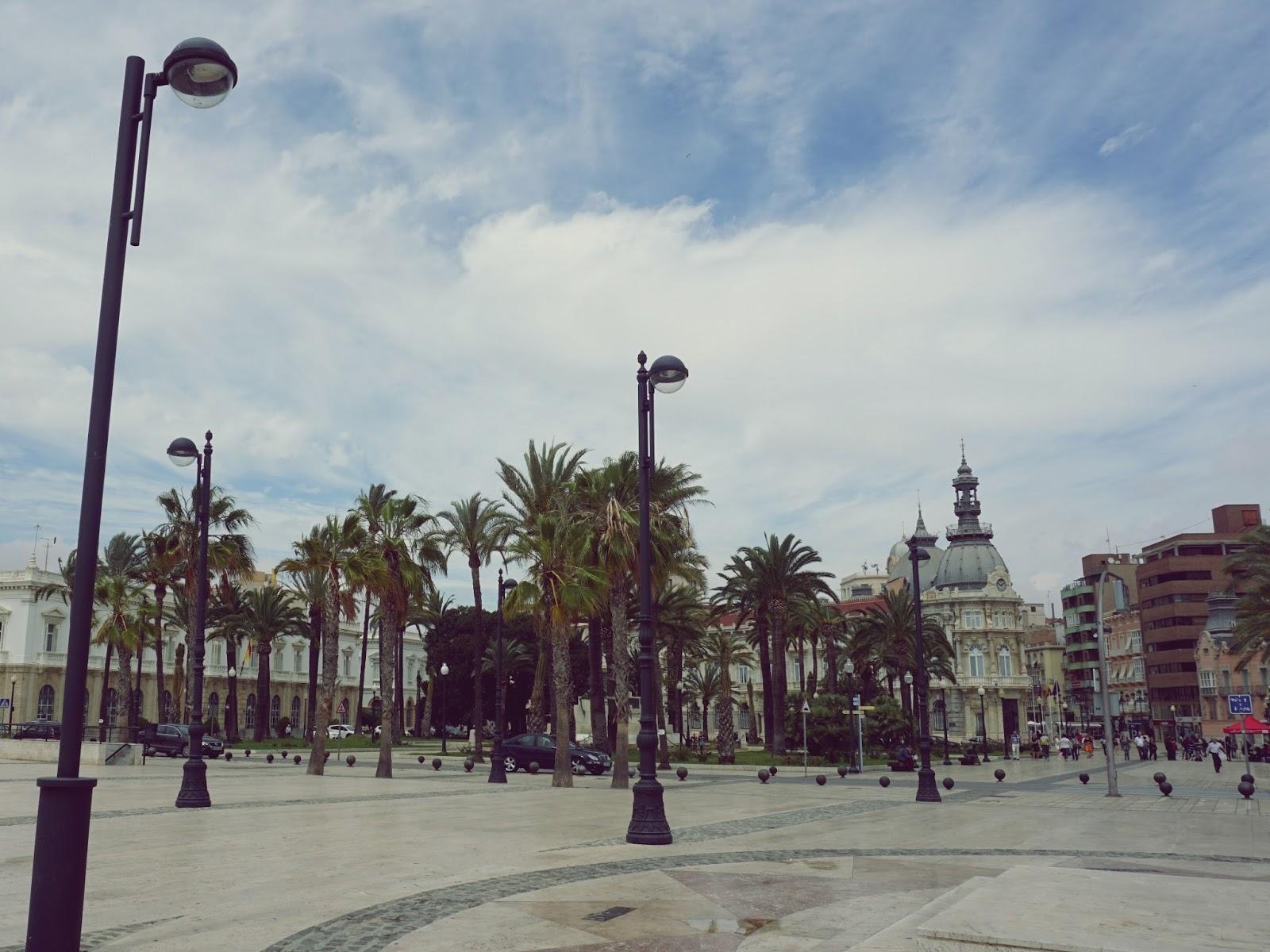 hiszpańskie miasto, Kartagena, panidorcia, blog, Hiszpania, podróże