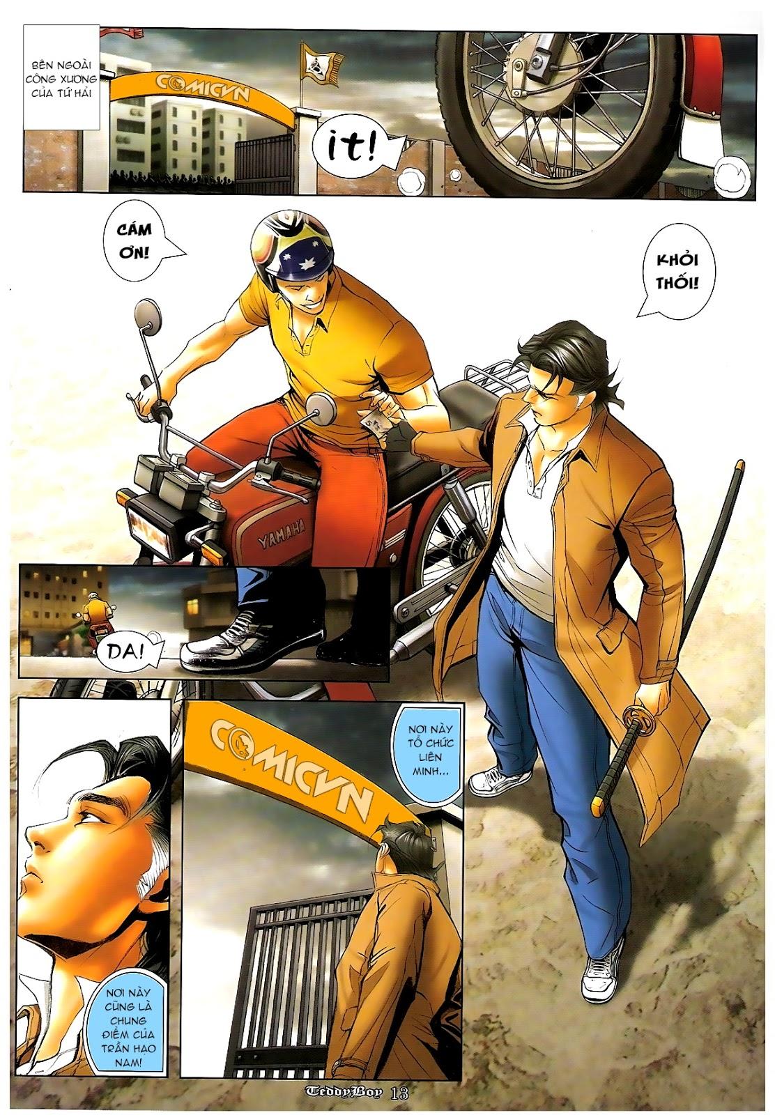 Người Trong Giang Hồ - Chapter 1218: 1 vs 1000 - Pic 12