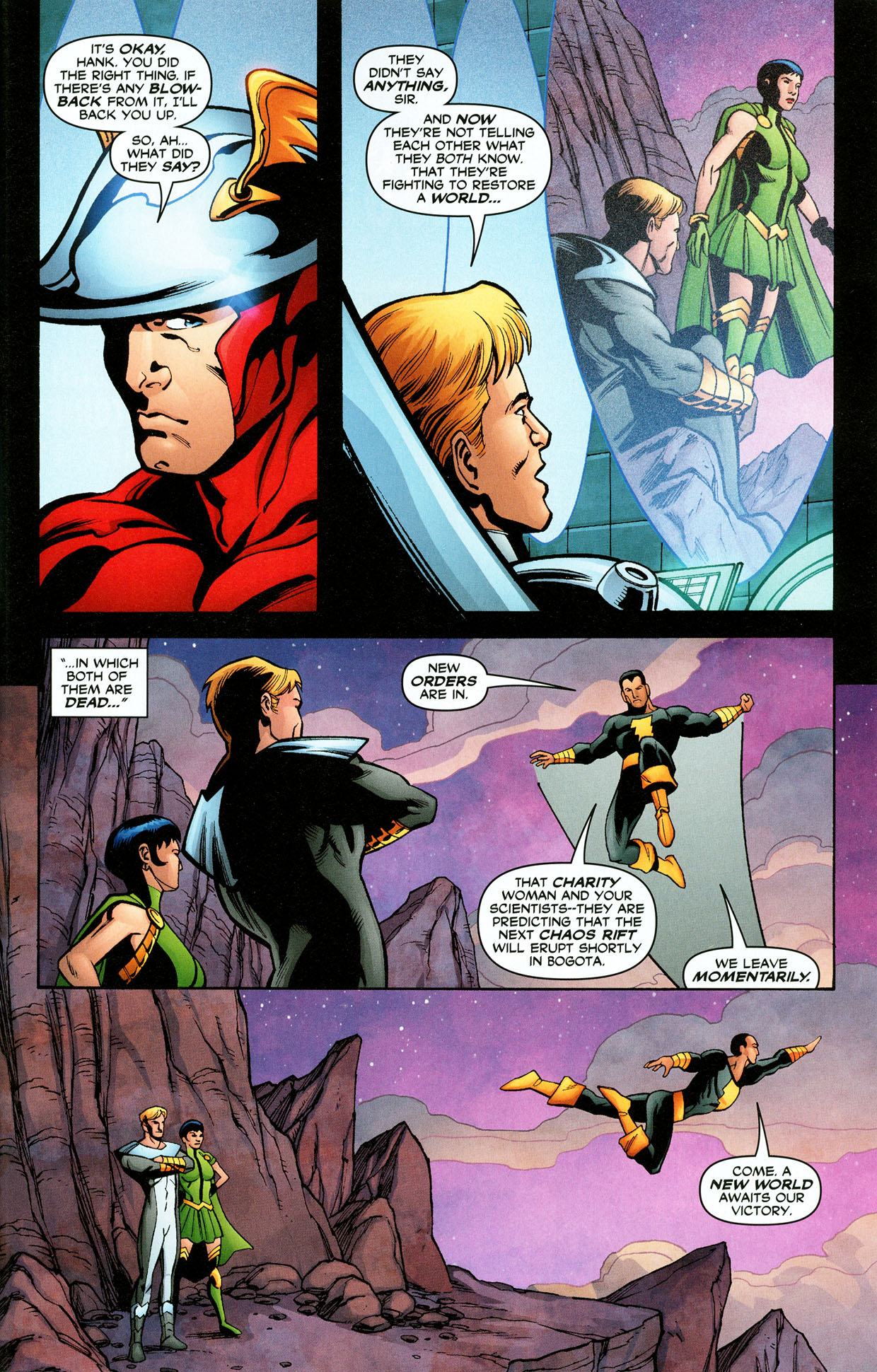 Read online Trinity (2008) comic -  Issue #32 - 30