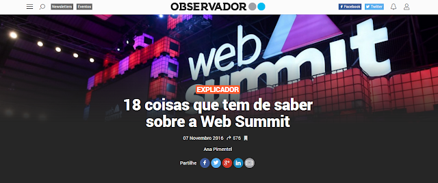 WEBSUMMIT LISBOA 2016