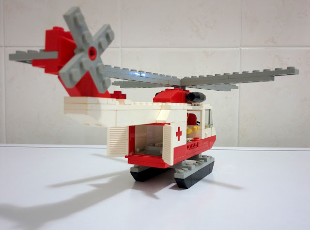 LEGO set 6691 elicottero Croce Rossa