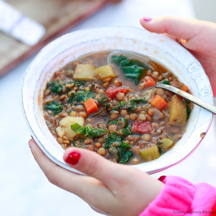 Instant pot lentil soup yummy mummy kitchen a vibrant created using the recipes generator forumfinder Images