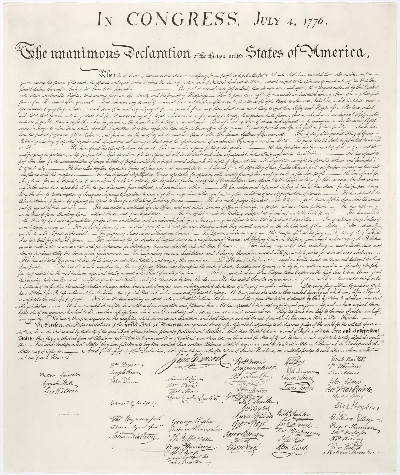 Declaration Of Independence For More On This Photo Visit
