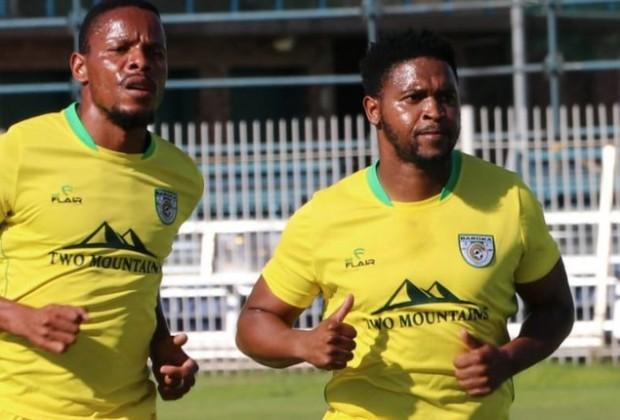 Baroka FC Forward Thandani Ntshumayelo