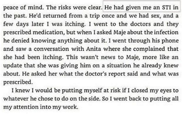 Maje Ayida gave me STD after we had sex, Toke Makinwa reveals