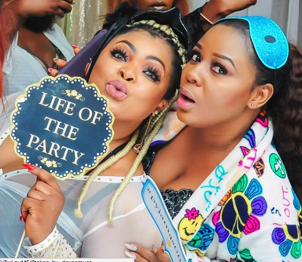 More Photos from actress Dayo Amusa's slumber themed birthday party