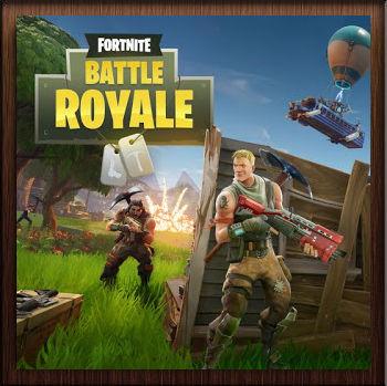 Fortnite Battle Royale Affiche - Avatar en HD