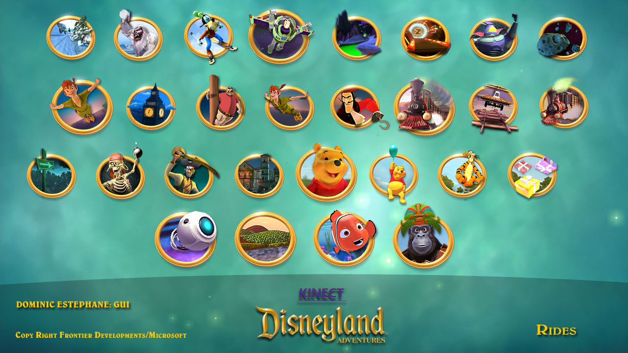 2DkE Animation: My Work On Kinect Disneyland Adventures (Out