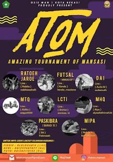 Amazing Tournament Of Mansasi [ATOM 2018] di MAN 1 Kota Bekasi