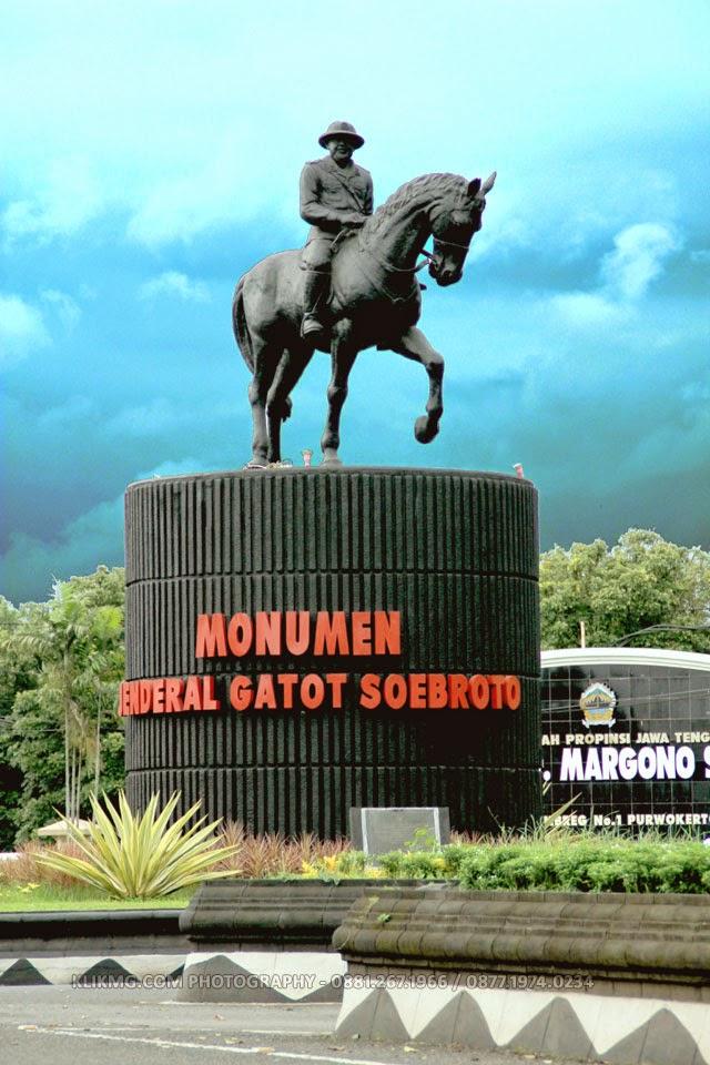 Monumen Jenderal Gatot Subroto - Berkoh, Purwokerto - Photo oleh Klikmg.com [ Photographer Purwokerto / Photographer Banyumas / Photographer Indonesia ]