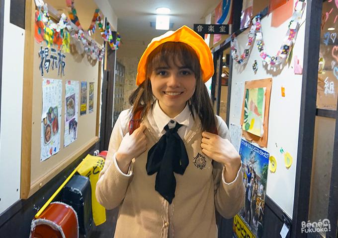 Cosplay d'écolier japonais, Izakaya à thème 6 nen 4 kumi, Fukuoka