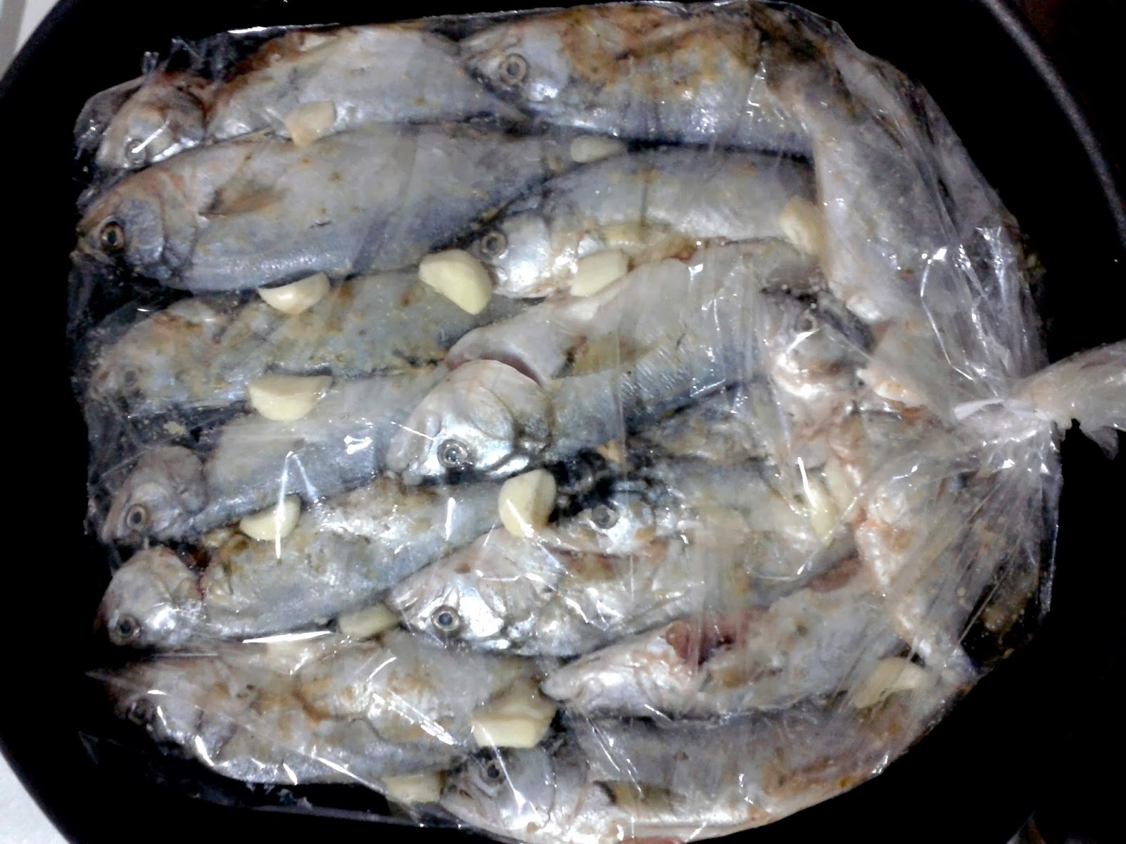 Fırın Poşetinde Balık