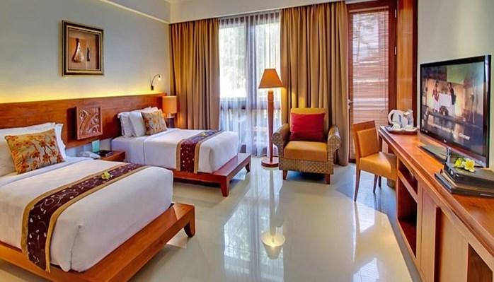 Rama Beach Resort Villas Terletak Di Tuban Kuta Dikelilingi Oleh Taman Tropis Yang Luas Area Kolam Renang Elegan Adalah Tempat
