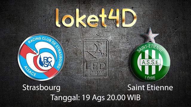 Prediksi Bola Jitu Strasbourg vs Saint Etienne ( French Ligue 1 )