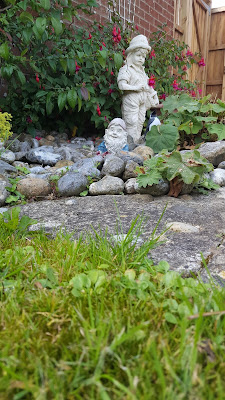 The Garden Ornaments when in my Nan's Garden