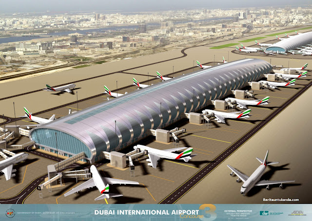 Dubai akan Bangun Bandara Terbesar di Dunia