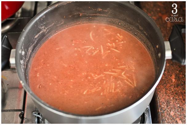 como preparar sopa de feijão