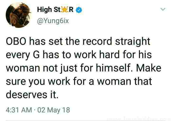 """""""Davido Has Set The Record, Every Man Must Work Hard For His Woman"""" – Yung6ix"""